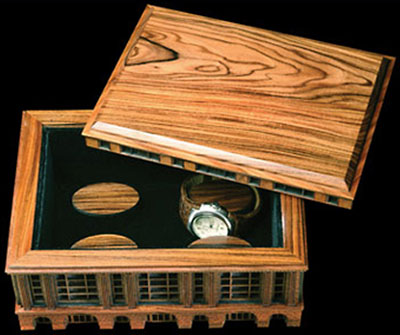 Steve Vigar Design Great Train Stations Watch Box: US$2,150.