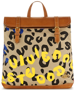Vivienne Westwood men's Steamer Bag Leopard/Tiger: €310.