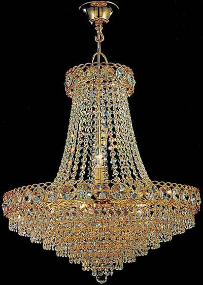World Class Lighting Small Crystal Chandelier Model 2700 E 20: US$769.