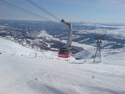 Åre ski resort.