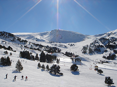 Grandvalira ski resort. Photo by Christof Damian.
