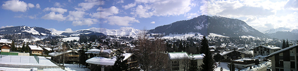 Megève. Photograph taken by Boly, February 2006.