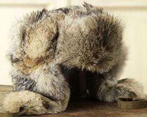 Purdey Trapper's hat in fox fur: £1,200.