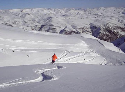 Valle Nevado. Photo by Lucasartes.