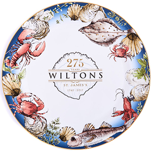 Wiltons Oyster Bar Presentation Plate: £140.