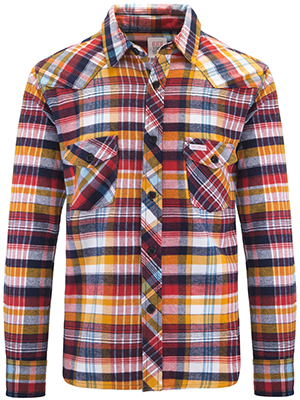 Topo Designs Mountain Shirt - Plaid Flannel: US$129.