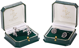 Wiltons Lobster Sterling Silver Cufflinks: £195.