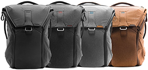 Peak Design Everyday Backpack: US$259.95.