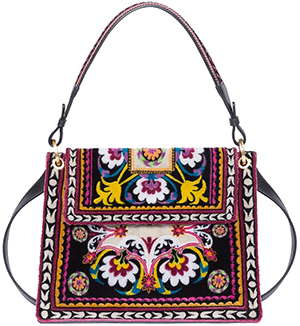 Etro Embroidered Foulard Shoulder Bag: US$3,110.