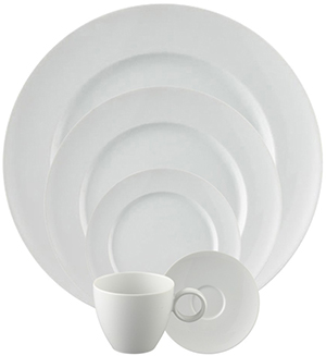 Thomas by Rosenthal 5 Piece Place Setting, Round (5 pps) | Vario White; US$87.