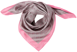 Wiltons 100% luxury silk printed foulard: £95.