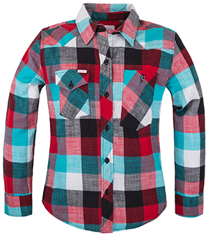 Topo Designs Women's Work Shirt - Plaid Flannel: US$98.