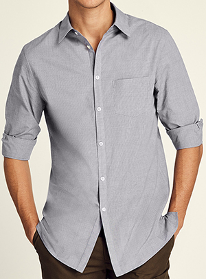 Adam Lippes men's long sleeve cotton shirt: US$380.