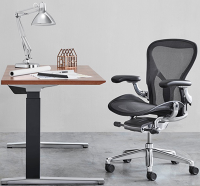 Herman Miller Aeron Chair Remastered.