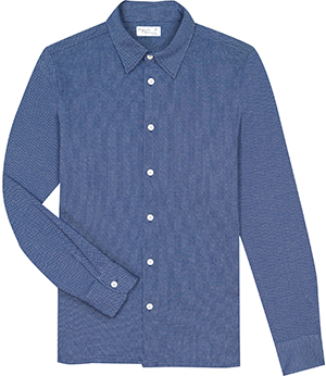 Agnès B. men's blue tom shirt: US$225.
