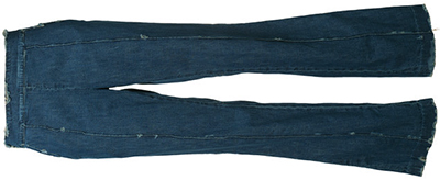 Victor Alfaro destroyed effect women's jeans: US$2,377.