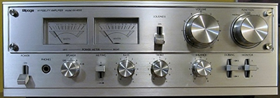 Alpage AA-4000 integrated amplifier.