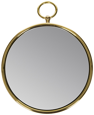 Amara Magic Convex Mirror with Ring - Round: US$553.