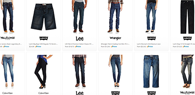 Men's & women's jeans at Amazon.com.