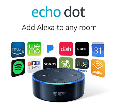 All-New Echo Dot (2nd Generation) - Black: US$$49.99.