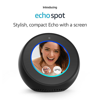 Amazon Echo Spot: US$$129.99.