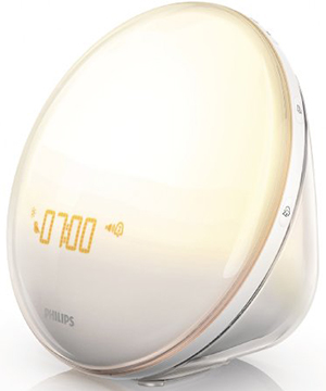 Philips HF3520 Wake-Up Light With Colored Sunrise Simulation, White: US$88.44.