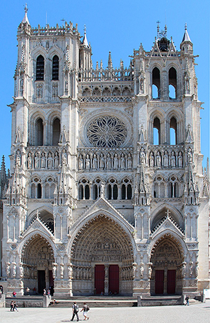 Amiens Cathedral, 30 Place Notre Dame, 80000 Amiens.