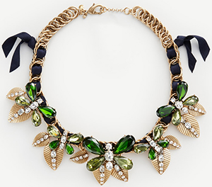 Ann Taylor Butterfly Statement Necklace: US$89.50.