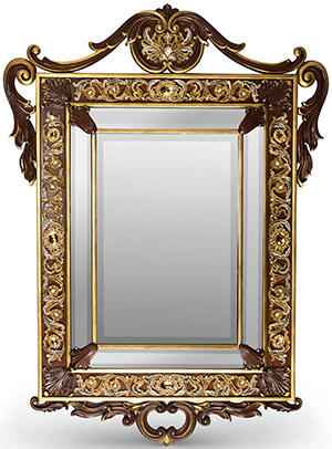 Neiman Marcus Laurent Arabesque Wall Mirror: US$12,500.