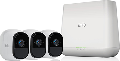 Arlo Pro Security System with Siren: US$499.99.