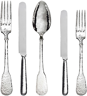 Artemest Troiana Sterling Silverware Set for Two: €1,465.