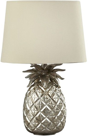 Laura Ashley Large Pineapple Complete Lamp.