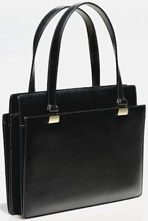 Margaret Thatcher's black handbag by Asprey: US$159,535.