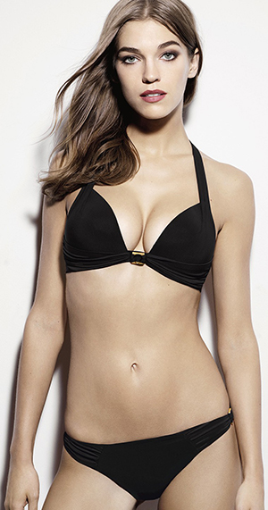 Aubade Paris Glam Cocktail push-up bikini top.