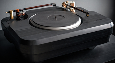 OMA Tourmaline turntable.