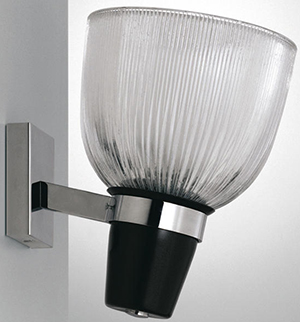 Azucena LP5 Coppa Vetro Aperta wall lamp.