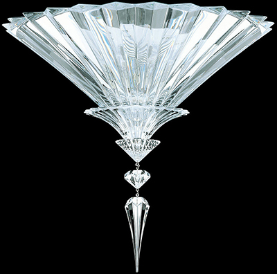 Baccarat Crystal Mille Nuits Ceiling Unit lamp: US$7,460.