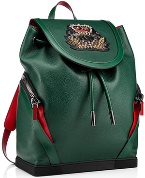 Christian Louboutin men's Explorafunk Backpack: US$2,350.