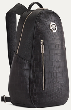 Stefano Ricci Handmade Crocodile & Calfskin Backpack: US$10,000.