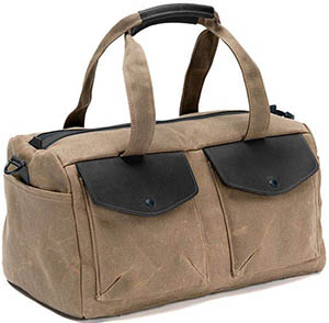 Waterfield Bolt Duffel Bag: US$249.