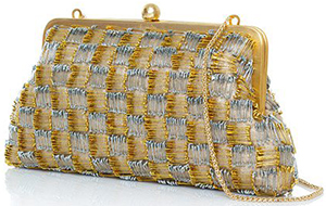 Sarah's Bag Pins Classic clutch: US$250.
