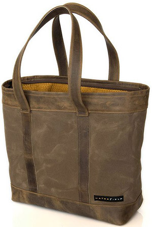 Waterfield Outback Canvas Travel Tote: US$149.