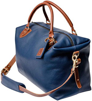 N'Damus London Regency Blue travel bag: £725.