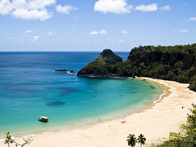 Baia do Sancho Beach, Fernando de Noronha, Brazil.