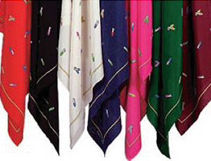 Belgian Shoes 100% Silk Scarves | Assorted Colors: US$150.