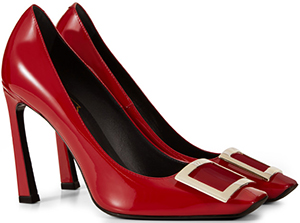 Roger Vivier Belle Vivier Trompette Pumps in Patent Leather.