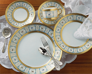 Robert Haviland & C. Parlon Bengalis 5 piece place setting: US$3,775.