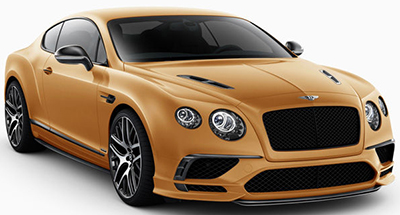 Bentley Continental Supersports (2017).