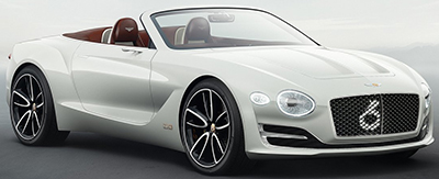 Bentley EXP 12 Speed 6e Concept.