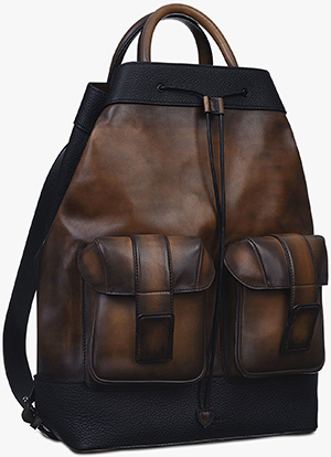 Berluti Horizon Leather Backpack: €2,890.